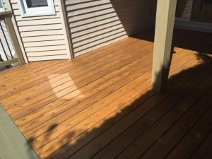 deck painted in ottawa