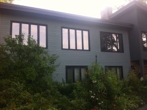 after photo of an exterior house painting hob
