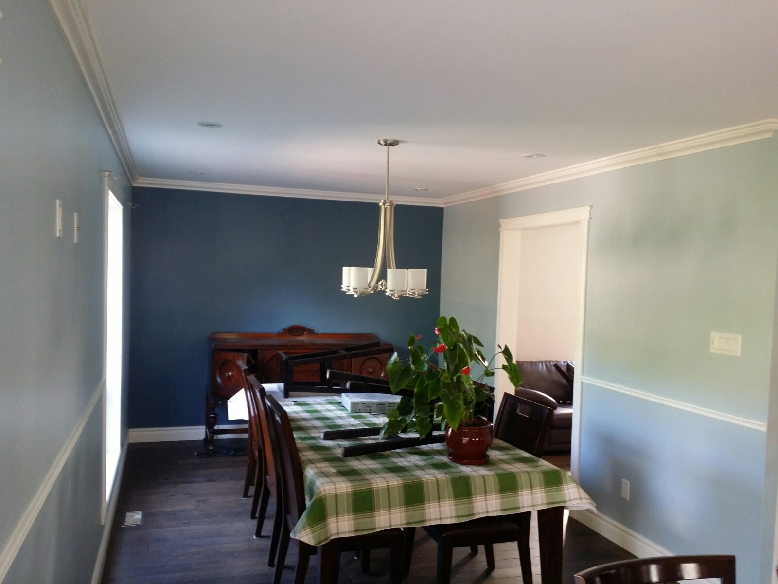 interior painting done by the enviro painting team