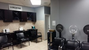 salon in ottawa with a fresh coat of paint