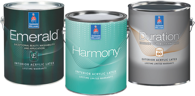 Sherwin Williams Paint Products